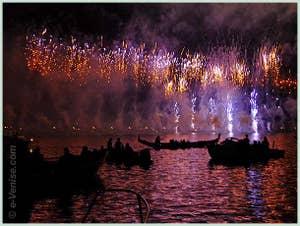 Le Feu d'Artifice de la Festa del Redentore à Venise