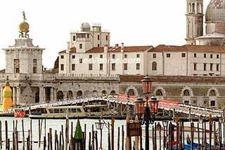 Le Pont métallique du Marathon de Venise