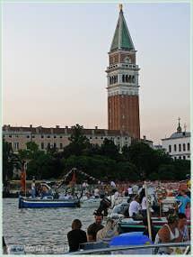 Fête du Redentore  à Venise - Encore un peu de patience, les feux d'artifice sont pour bientôt !