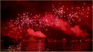 Le Feu d'Artifice de la Fête du Redentore - Rédempteur à Venise