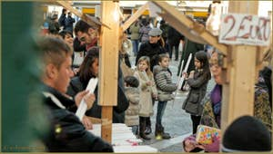 L'achat des cierges à la fête de la Salute à Venise