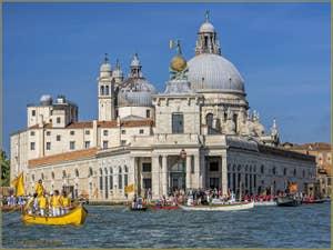 La fête de la Sensa à Venise et l'église de la Salute