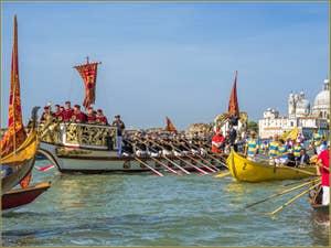 La fête de la Sensa à Venise la Serenissima sur le bassin de Saint-Marc