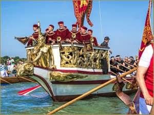 La fête de la Sensa à Venise les musiciens de la Serenissima