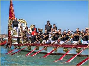 La fête de la Sensa à Venise, l'arrivée de la Serenissima à San Nicolò di Lido