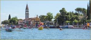 Vogalonga Venise : L'île de Mazzorbo et son Campanile