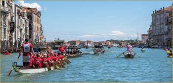 Vogalonga Venise : L'arrivée à la Dogana da Mar, la boucle est bouclée !