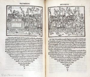 Hypnerotomachia Pliphili, imprimé par Aldo Manuzio à Venise