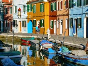 Les couleurs et l'authenticité de l'île de Burano à Venise, Fondamenta de Terranova