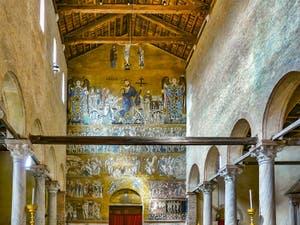 La Basilique Santa Maria Assunta sur l'île de Torcello dans la Lagune Nord de Venise