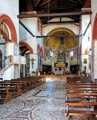 Basilique dei Santi Maria e Donato, Saint-Donat d'Arezzo, 1125-1141, sur l'île de Murano à Venise