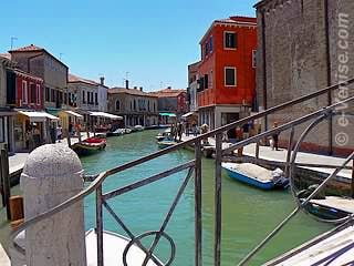 Île de Murano à Venise, le Rio dei Vetrai