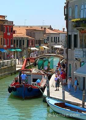 Île de Murano le Rio dei Vetrai