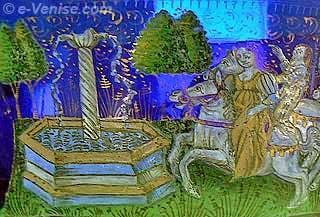 Coupe en verre émaillé du XVe siècle attribuée à Angelo Barovier Musée du Verre de Murano