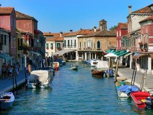 Le Rio dei Vetrai et la Fondamenta Manin sur l'île de Murano à Venise