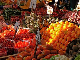 L'Erberia : des fruits ardents comme des pierres précieuses
