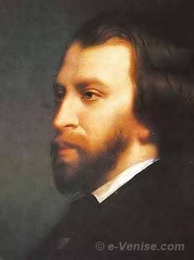 Le Poète et écrivain Alfred de Musset
