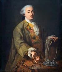Portrait de Carlo Goldoni par Alessandro Longhi en 1757