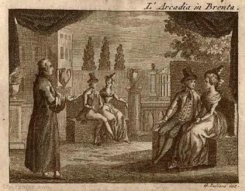 Carlo Goldoni, pièce de théâtre L'Arcadia in Brenta