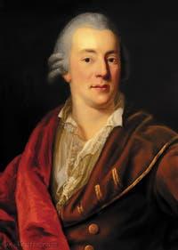 Portrait de Giacomo Casanova par Anton Graff