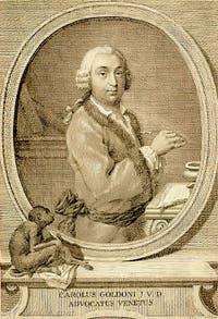 Portrait de Carlo Goldoni