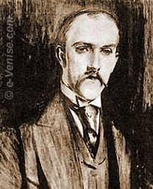 Le poète et écrivain Henri de Régnier