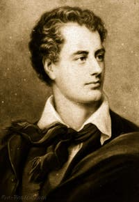 Portrait de George Gordon Lord Byron