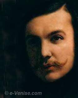 Le Poète et écrivain Théophile Gautier