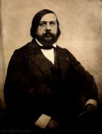 Théophile Gautier, photographie de Nadar en 1855