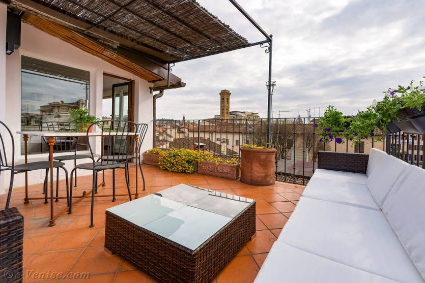 Location Ghirlandaio Terrasse à Florence,
