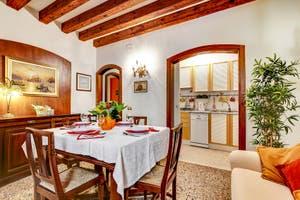 Le Salon-Salle à Manger de l''ppartement Forner Marina à Venise