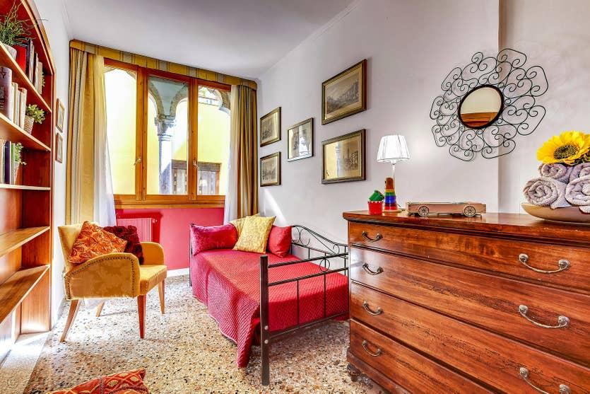 Location Forner Marina à Venise, la seconde chambre