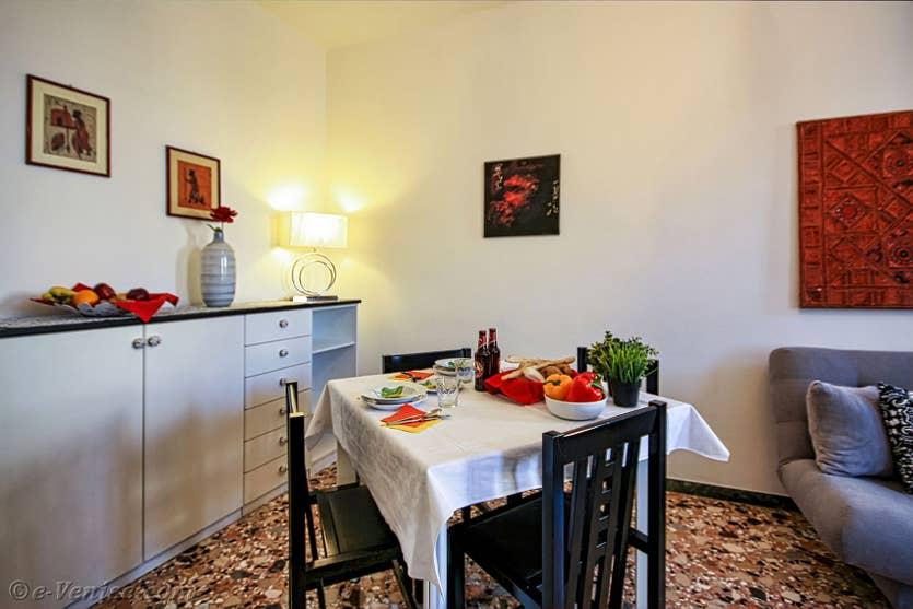 Location Madona Cannaregio à Venise, la chambre matrimoniale