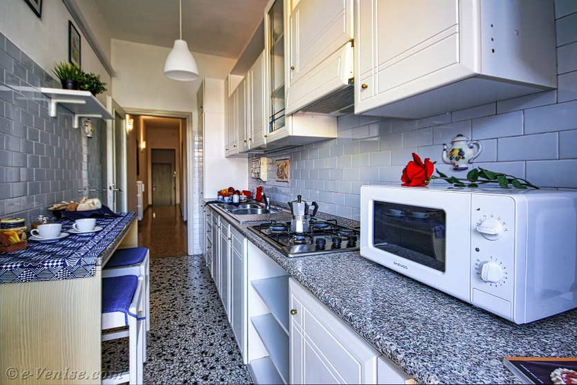 Location Madona Cannaregio à Venise, la cuisine