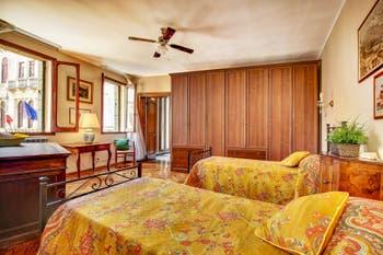Chambre du Palazzetto Bernardo à Venise en Italie