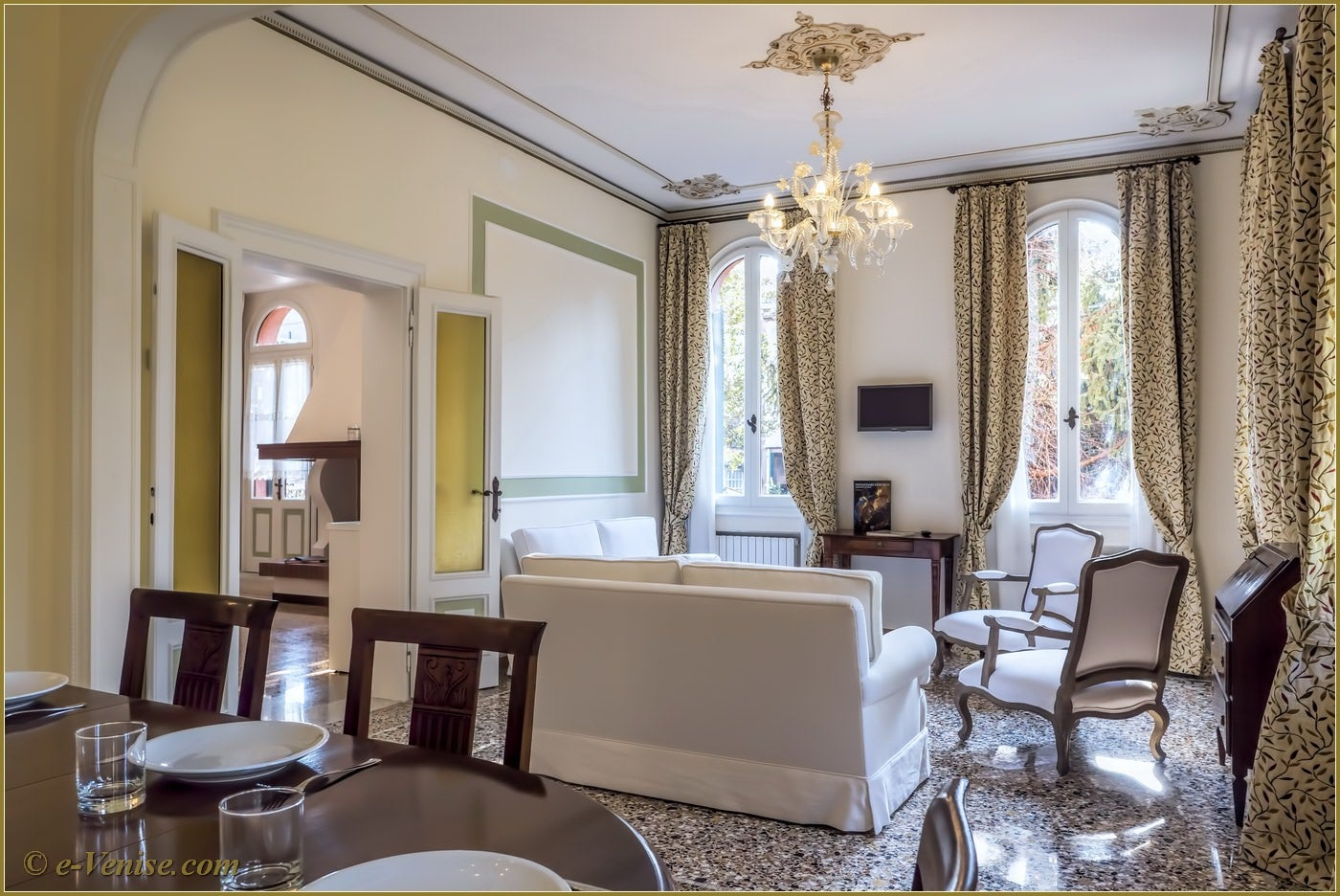 Location appartement venise castello barbaria terrace 5 for Salle a manger 10m2