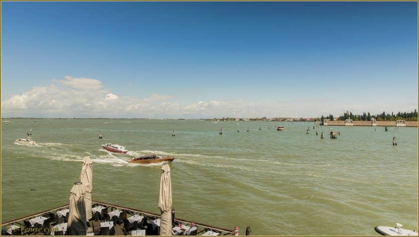 Location Ca' Colombina à Venise, la vue sur la lagune de Venise