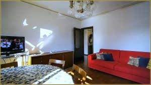 Le Salon Salle à Manger de l'appartement Campiello Barbaro à Venise.