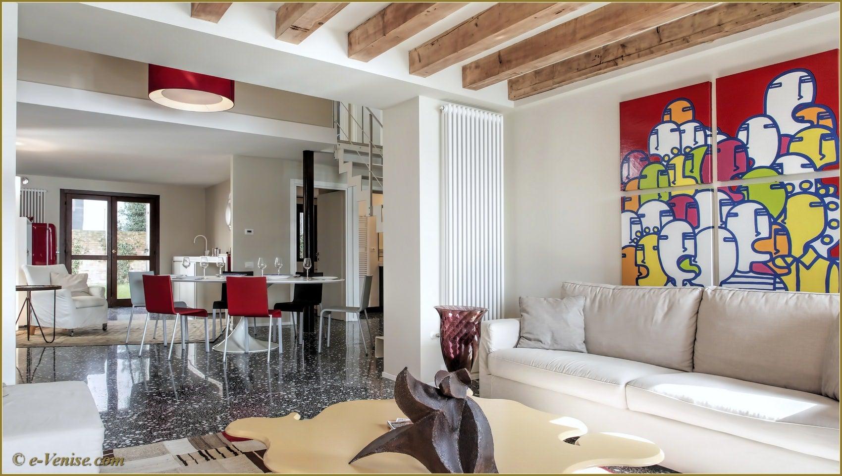Location appartement venise dorsoduro ca 39 del redentore 6 for Appartement design venise