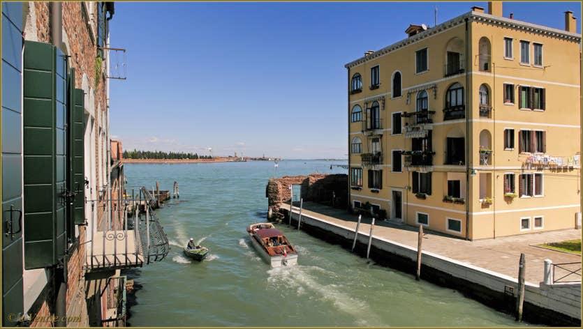Location Santuzza à Venise, la vue sur la laguna