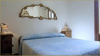 La Première Chambre de l'appartement Santuzza, dans le Sestier du Castello à Venise.