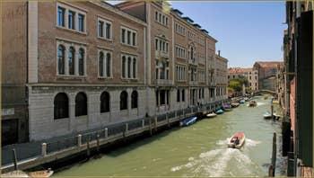 La vue depuis la Première Chambre de l'appartement Santuzza, dans le Sestier du Castello à Venise.