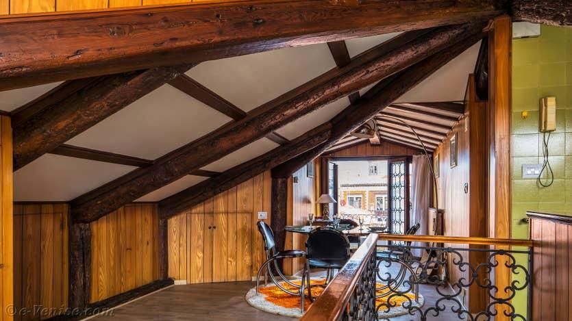 Location Cerchieri Terrasse à Venise, la salle à manger