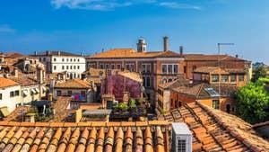 Cerchieri Terrasse location à Venise : L'une des vues sur les toits de Venise