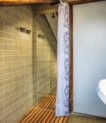 La douche de Cerchieri Terrasse location à Venise.