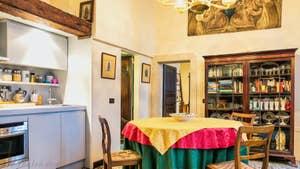 Salle à Manger Cuisine de l'appartement Furatola Aponal à Venise