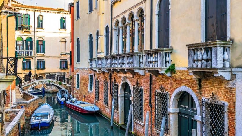 Location Furatola Aponal à Venise, la vue sur le Rio de Sant'Aponal