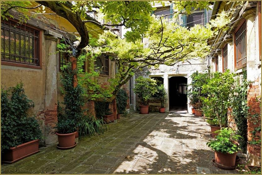 Location Greci View à Venise, l'entrée de la maison