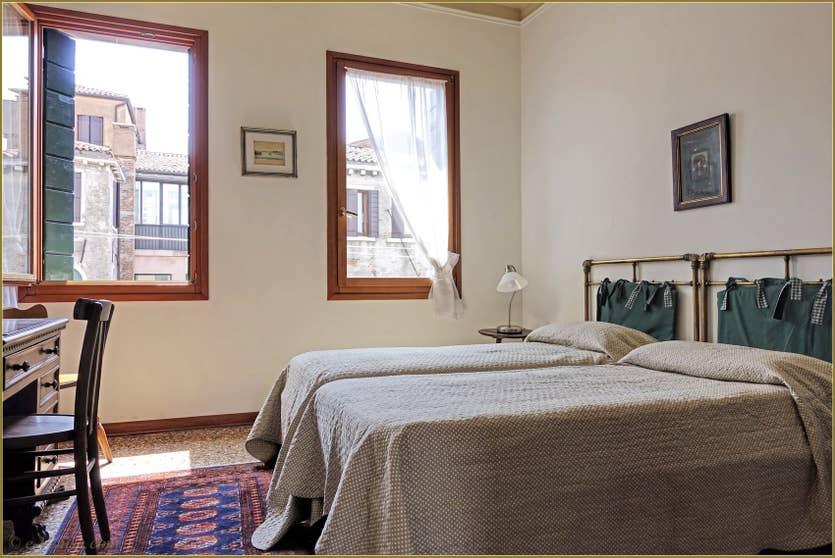 Location Greci View à Venise, la première chambre