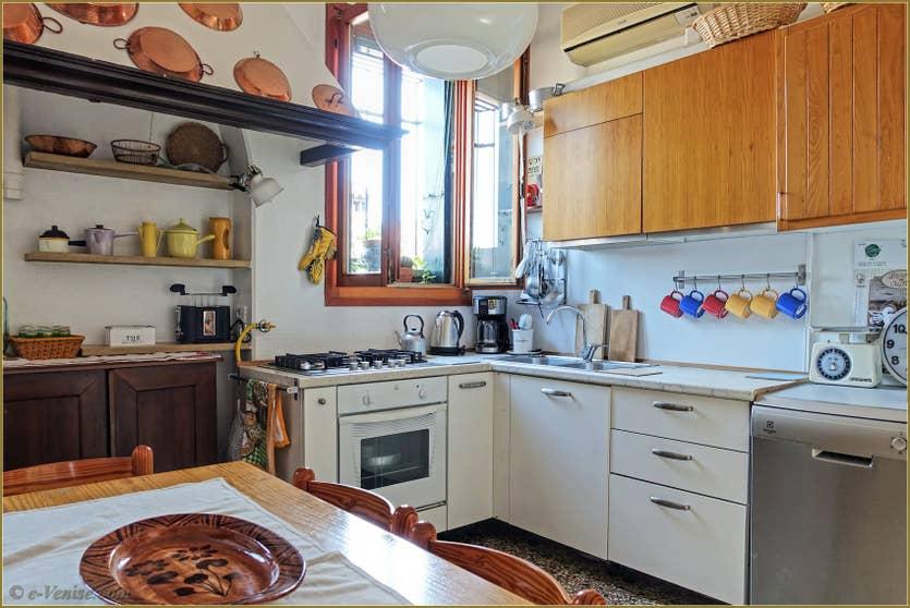 Location Greci View à Venise, la cuisine